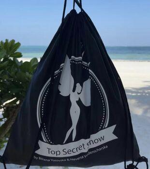 """Top secret show"" брандирана мешка"